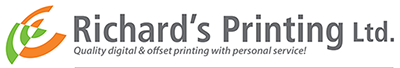 Richard's Printing Ltd., Port Hope Logo